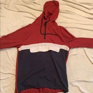 Other - Maroon and Navy windbreaker